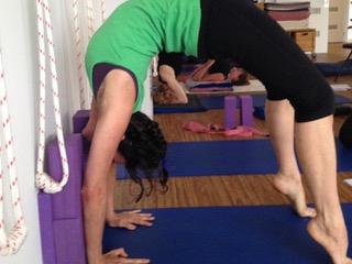 Yoga instructor Brigette