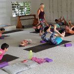 teaching Dhanurasana